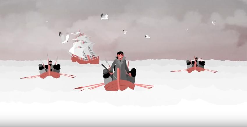 Euskal  Balezaleen  Triskantza  (animazioa)