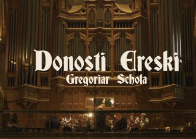 Donosti  Ereski  Gregoriar  Schola