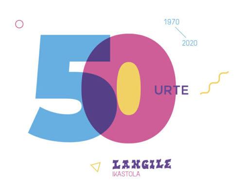 Langile 50 urte